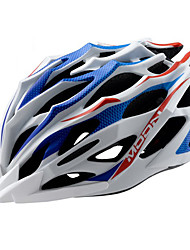 MOON Cycling Blue+White PC/EPS 28 Vents MTB Helmet