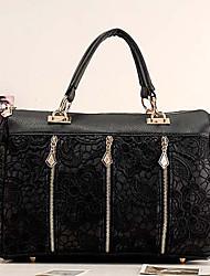 Coco Casual Sweet Lace Handbag(Black)