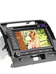 8inch 2 DIN в тире DVD-плеер автомобиля для Toyota Land Cruiser 2008-2012 с GPS, BT, Ipod, RDS, сенсорный экран