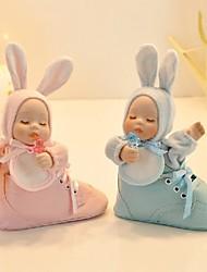 Remuer la tête de bébé dans Boot Music Box pour Baby Shower (Plus de couleurs)