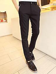 Exquis Homme Couleur de blocage Pantalons