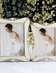 Estilo Polyresin Modern Picture Frame casamento