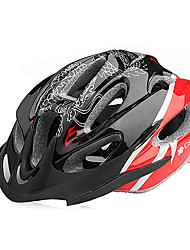 CoolChange Red EPS Material Integrally-molded Cycling Helmet
