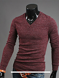 Men's Sweaters , Polyester/Spandex Casual/Work KICAI