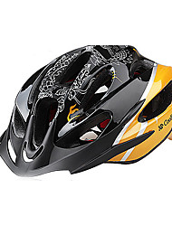 CoolChange Yellow EPS Material Integrally-molded Cycling Helmet