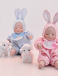Shepherd Baby in Bunny Set Music Box for Baby Shower (More Colors)