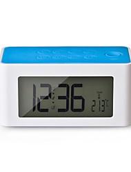 Wireless Mutual inducción mágica música del altavoz de la caja para el teléfono celular con 4'' LCD / FM / Alarma / Reloj