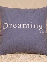 Coussin décoratif rêver Motif Parole avec insert