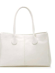Nimei Butter Leather Handbag(White)
