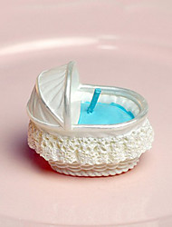 Ivory Bassinet Basket Candle (More Colors)
