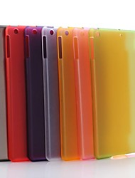 Transparent Matte PC Hard Case for iPad Air (Assorted Colors)