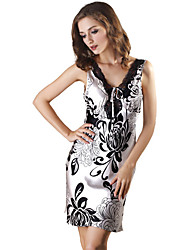 Women's Intimates & Sleepwear , Polyester/Spandex/Viscose SHINEROSE