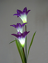Color Changing Solar Lily Flower Stake Light(CSS-58263)