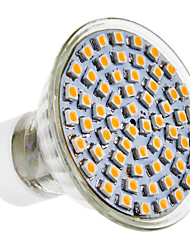 GU10 4W 300LM 60x3528SMD 4100K blanc naturel spot LED ampoule (220-240V)