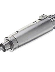 RCA a XLR M / F Adaptador Silver