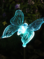 Solar Color-Changing Butterfly Garden Stake Light(CSS-57272)
