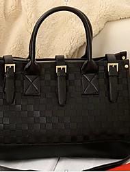 Luggage Vintage Chess Check Single Shoulder Cross Body Bag