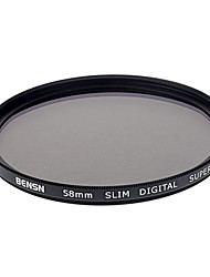 BENSN 58mm SLIM super DMC Filtre UV