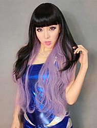 100% Kanekalon Correspondência de cores sintético Hetero peruca