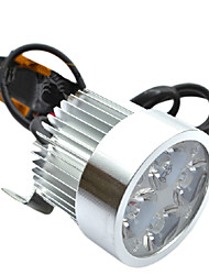 12-80V 12W Motorcycle LED headlight (With Fixture and External Drive)