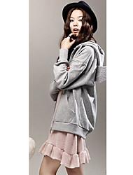 Frauen Flügel Verschönerung Hoodie-Mantel