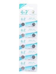 LR936 AG9/LR936/394/194 1.5V Super Alkaline Button Cell Batteries (10 PCS)