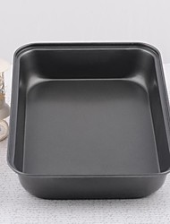 Iron Large Rectangle Non-stick Ovenware Cake Bakeware Mould Set of 1 Piece,34x24x6cm