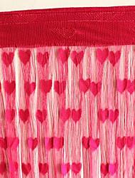 """Lovely Hearts Dekoriert Vorhang Line - drei Farben erhältlich (39 """"W x 78"""" L)"""