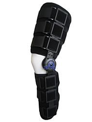 Регулируемая коленного сустава Фиксатор Навесное коленного бандажа (черный)