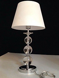 European-Style Transparent Table Light Bedside Lamp
