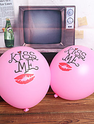 Pink Kiss Balloon - Set 24