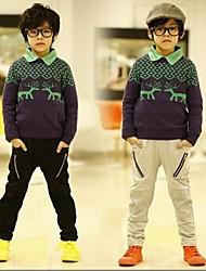 Boy's Zipper Harem Pants