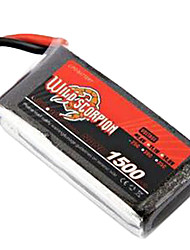 Sauvage Scorpion 7.4V 1500mAh 25C Li-Po batterie (JST Plug)