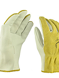 Whit Watson Deerskin Leather Welding Work Protection Driving Gloves