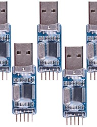 PL2303 USB-TTL / USB-STC-ISP editor on-line de programas - Azul (5packs)