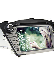 7inch 2 DIN In-Dash Car DVD-soitin Hyundai IX35 2009-2013 GPS, BT, iPod, RDS, TV