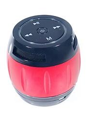 Céramique v3.0 2 canaux Bluetooth Portable Speaker Microphone TF LED pour téléphone portable Tablet PC