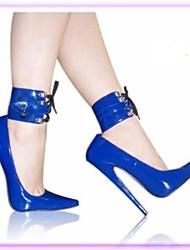 7 pulgadas Tacones altos Mujeres Bombas del tacón de aguja Zapatos sexy Zapatos Sm