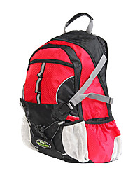 FJQXZ Waterproof and High Elastic Fabrics Red Cycling Backpack