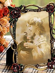 """6""""7""""10""""Modern European Style Pearl Metal Picture Frame"""