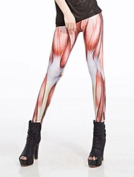 Muscles Women'sStrong Imprimer Leggings
