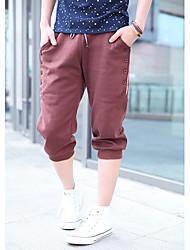 Hombres hebilla lateral recortada Pantalones deportivos