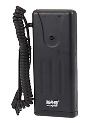 SDT-1502 Flashgun Power Pack for Camera Flash (Black)