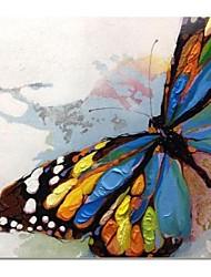 Pintados à mão pintura a óleo abstrata moderna, com quadro esticado
