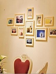 Natural Color Photo Frame Collection Set von 11