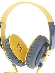 YL-EP12 casque jaune pour téléphone mobile et PC