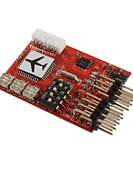 M6 Flight Control (digital gyroscope) FPV/V tail/wing dedicated flight control board
