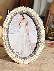 "6""7"" Modern European Style Pearl Metal Picture Frame"