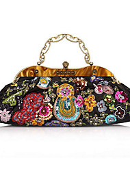 Women's Classical Pearl Embroidery Process Tote