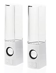 Dancing Water Hi-Fi Stereo Music Speaker(White)